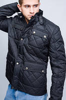 """Демисезонная мужская куртка """"Alex"""" черный"""