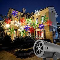 Рождественский лазерный проектор Laser Led