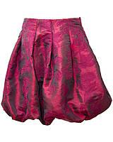 Юбка Баллон для девочки. Размер 110-116. Бордовый.