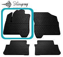 CITROEN C3 Picasso 2009- Водительский коврик Черный в салон. Доставка по всей Украине. Оплата при получении