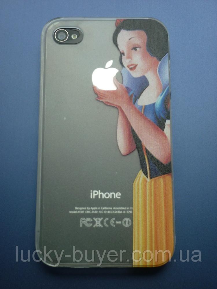 Чехол Белоснежка для iPhone 4 4S