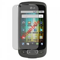 Защитная пленка для LG P500 / P503 Optimus (глянец)