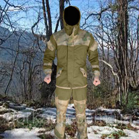 Костюм Горка 3 a-tacs fg, утепление флис / слимтекс