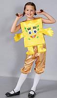 Детский карнавальный костюм Спанч Боб, фото 1