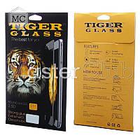 Защитное стекло TigerGlass для APPLE iPhone 7 (0.3 мм, 3D Fiber белое) в комплекте с задней плёнкой