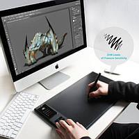 Графический планшет ПРО беспроводной HUION GIANO WH1409 комплект