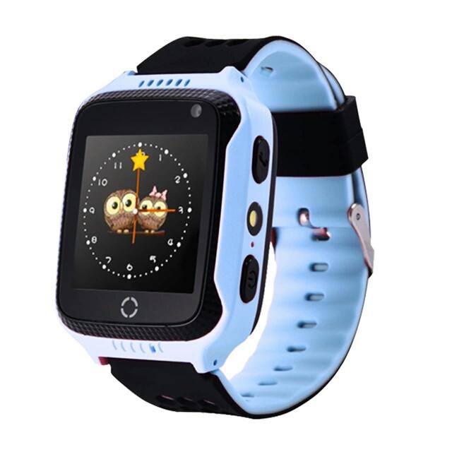 Детские GPS часы Q900s Smart Baby Watch Голубой