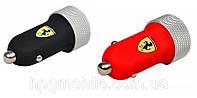 Автомобильное зарядное устройство (АЗУ) - Ferrari АЗУ 2 USB (2.1 A)