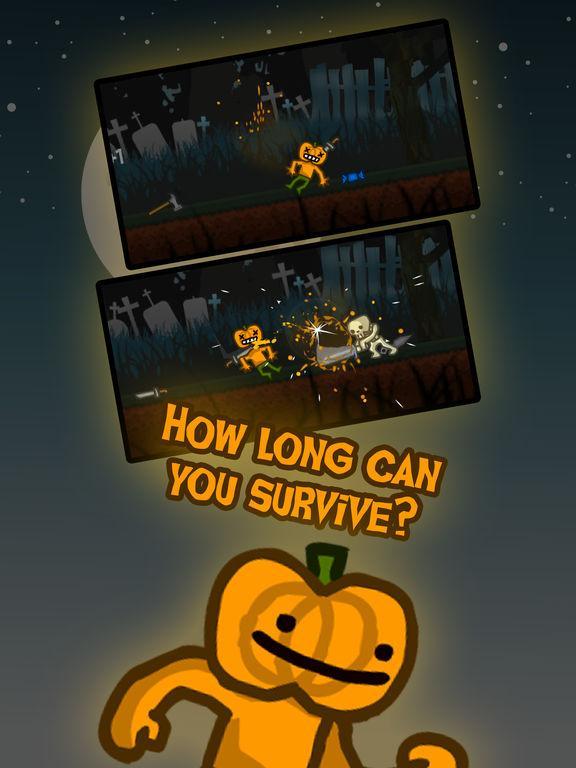 Pumpkinman — Spooky Survival