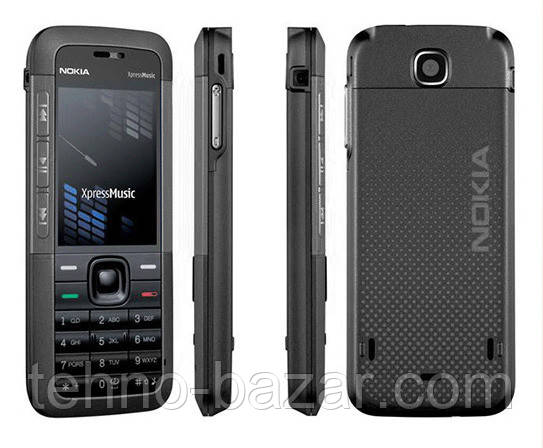 Мобільний телефон Nokia 5310 Xpress Music(оригінал) Black 860 маг