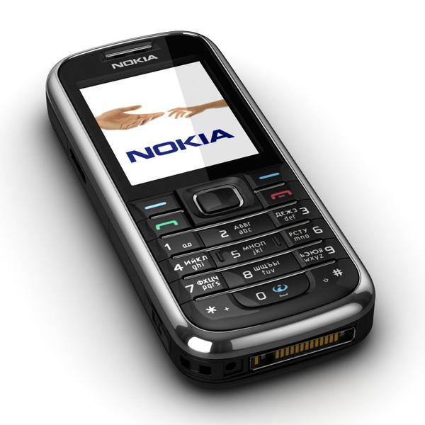 Мобильный телефон Nokia 6233(оригинал) Black 1100 мАч Оригинал