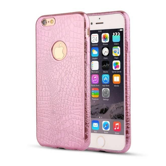 Силіконовий чохол TPU для Apple iPhone 6 / 6S Pink