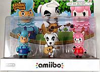 Amiibo Animal Crossing 3-Pack фигурки