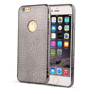 Силіконовий чохол TPU для Apple iPhone 6 / 6S Black, фото 2