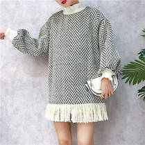 Платье ткань Ёлочка, фото 3