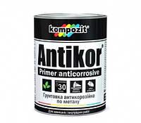 Грунтовка для металла Antikor красно-коричневая KOMPOZIT, 15 кг (4820085741942)