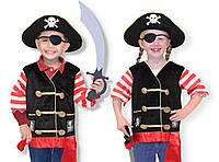 """Костюм """"Пират"""", от 3-6 лет, MD14848, Melissa&Doug"""