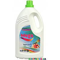 Гель для стирки (жидкий порошок) для цветного белья Mega Color GCG 4 л.