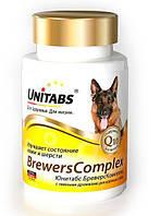 Юнитабс Бреверс Комплекс Unitabs BreversComplex с пивными дрожжами для крупных собак, 100 т, Экопром
