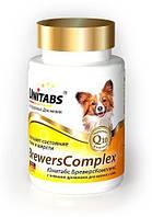 Юнитабс Бреверс Комплекс Unitabs BreversComplex с пивными дрожжами для мелких собак, 100 т, Экопром