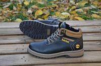 Мужские зимние ботинки Timberland натуральная кожа натуральная шерсть