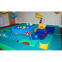 Детская игровая комната из мягких модулей 300*300*50 см ТМ Tia-sport sm-0132