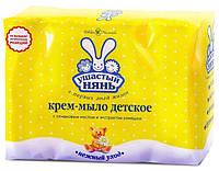 Ушастый нянь крем-мыло с ромашкой, 4*100 г, Невская Косметика