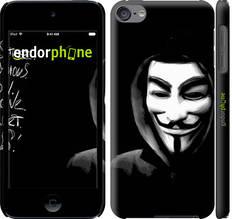 "Чехол на iPod Touch 6 Анонимус ""832c-387-851"""