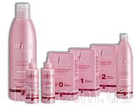 Состав для крепких окрашенных волос 90+100 мл MOSSA №1 Plus  (доп. шампунь и кондиционер)