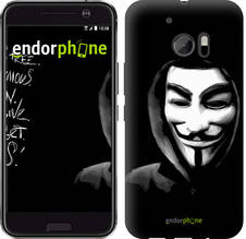 "Чехол на HTC 10 Анонимус ""832c-464-851"""