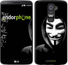 """Чехол на LG G2 Анонимус """"832u-37-851"""""""