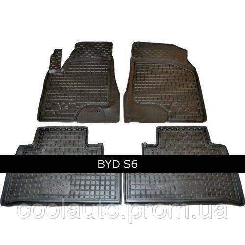 Коврики в салон Avto Gumm 11416 для BYD S6