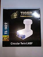 Спутниковый конвертор circular Tiger TL-1422 ( на 2 телевизора)