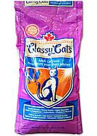 Classy Cats Сухой корм для взрослых активных кошек курица +тунец, 18 кг
