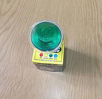 Лампа галогенная UES зеленая JCDR220v/50ц новые в наличии