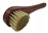 Копия Щётка Saphir круглая для нанесения, White ovale brush