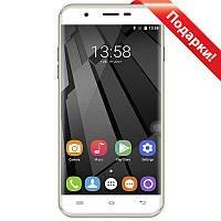 "Смартфон 5.5"" OUKITEL U7 Plus, 2GB+16GB Золотистый 4 ядра 2.5D экран камера Galaxy Core GC8024 8Мп Android 7.0"