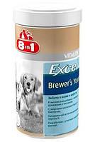 8 в 1 Excel Brewers Yeast витамины для кошек и собак, 1430 табл.
