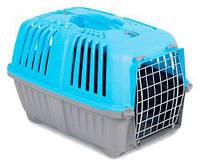 Переноска для кошек и собак Pratiko (Пратико) 1 metal Blue, вес до 12кг, MPS, Италия