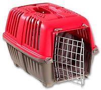 Переноска для кошек и собак Pratiko (Пратико) 1 metal Red, вес до 12кг, MPS, Италия