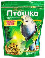 Пташка фрукт-меню корм для декоративных птиц, 600 г, Продукт