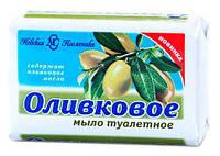 Оливковое мыло туалетное, 90 г, Невская Косметика