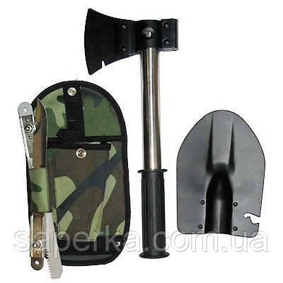 Набор туриста саперная лопата 7 в 1 (усиленная ручка)