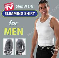 Утягивающая майка для мужчин Slim n Lift for Men Pro Слим Н лим, фото 1