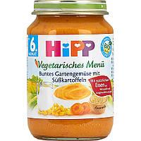 """Детское пюре HiPP """"Овощи и сладкий картофель"""" от 6-го месяца 190 г"""