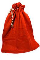 Мешок для подарков фланель 50х70 см