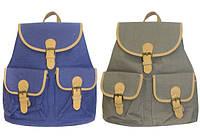 Рюкзак підлітковий для дівчинки ООПТ однотонний MJ6012, 39 * 27 см