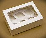 Упаковка для кексов, маффинов, капкейков