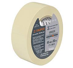 Скотч малярний,паперовий 50м х 38мм