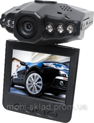 Автомобильный видеорегистратор H198 HD, угол обзора 140°, 6 ИК, DVR рекордер. Лучшее качество!